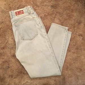 BONGO Vintage High rise mom jeans size 11